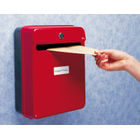 Helix Red Internal Post Suggestion Box, 225mm x 125mm x 295mm  - W81060