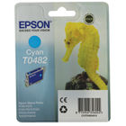 Epson T0482 Cyan Ink Cartridge - C13T04824010