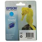 Epson T0482 Cyan Inkjet Cartridge C13T04824010