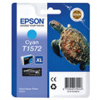 Epson T1572 Cyan Ink Cartridge - High Capacity C13T15724010