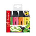 Stabilo Boss Assorted Highlighters (Pack of 4) 70/4