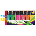 Stabilo Original Assorted Highlighters Pens, Pack of 8 - 70/8