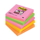 Super Sticky Cape Town 76 x 76mm Post-it Notes, Pack of 5 - 654-SN/TF