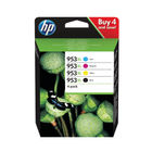 HP 953XL HY Ink Cartridges CMYK (Pack of 4) 3HZ52AE