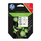 HP 950XL and 951XL Black/Cyan/Magenta/Yellow Ink Cartridges Pack C2P43AE
