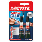 Loctite 3g Power Flex Gel Super Glue, Pack of 2 - 2560191