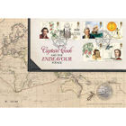 Captain Cook and the Endeavour Voyage Coin Cover - AN152