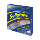 Sellotape 25mm x 12m Sticky Loop Strip | 1445182