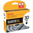 Kodak 30BXL Black Ink Cartridge - High Capacity 3952363