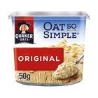 Quaker Oat So Simple 45g Original Porridge Pots, Pack of 8 - 121256