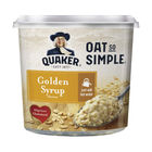 Quaker Oat So Simple 57g Golden Syrup Porridge Pots, Pack of 8 - 121256