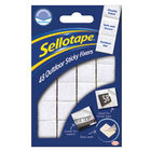 Sellotape Outdoor Sticky Fixers Permanent, Pack of 48 - 484329