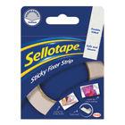 Sellotape Sticky Fixer Strip 25mm x 3m - 484330