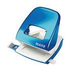 Leitz NeXXt WOW Metal Office Hole Punch Metallic Blue 50081036