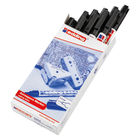 Edding 8404 Black Aerospace Markers, Pack of 10 - 8404-001