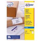 Avery QuickDry Inkjet Address Labels 199.6 x 289.1mm (Pack of 100) - J8167-100