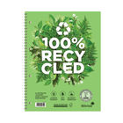 Silvine A4 Premium Recycled Wirebound Notebooks - Pack of 5 - R102