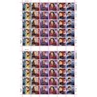 1st Class Stamps x 60 (Postage Stamp Sheet) - Star Trek A