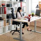 Cleartex PVC Chair Mat Carpet Lipped 920x1210mm Clear 119225LV