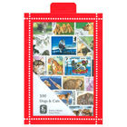 Dogs & Cats Stamps Collection, 100 Stamps - R3656