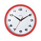 Acctim Aylesbury Red Wall Clock - 92/303