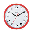 Acctim Aylesbury Red Wall Clock - 92/303