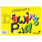 Silvine A4 Children's Drawing Pads, 12 Pack - 420