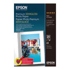 Epson Premium White A4 Semi-Gloss Photo Paper, 251gsm - 20 Sheets - C13S041332