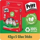 Pritt Stick 43g Original, Pack of 5 | 1456072