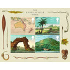 Captain Cook and the Endeavour Voyage Miniature Sheet - MZ133