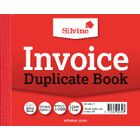 Silvine Carbon Invoice Duplicate Book, 100 Pages (Pack of 12) - 616