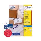 Avery Inkjet Labels 63.5x46.6mm 18 Per Sheet (Pk 1800) J8161-100