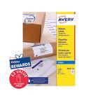 Avery Inkjet Label 99.1x33.9mm 16 Per Sheet (Pk 1600) J8162-100