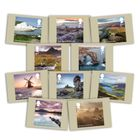 National Parks Stamp Card Pack