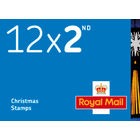 2nd Class Stamps x 12 Pack (Postage Stamp Book) Christmas 2020