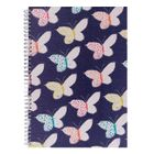 Go Stationery A4 Neon Bloom Butterflies Notebook | 4NC164