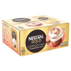 Nescafe Gold Unsweetened Instant Cappucino Sachets (Pack of 50) 12314883