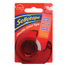 Sellotape 15mm x 5m Double Sided Tape with Dispenser - 484344