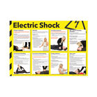 Health and Safety 420x594mm Electric Shock Poster - FA551