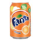 Fanta Orange 330ml Cans, Pack of 24 - 0402006