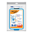 Bic Velleda Drywipe Board Blue 190x260mm (Portable and double sided with holes for hanging) 841360
