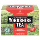 Yorkshire Tea String and Tag Tea Bags, Pack of 100 - 2680UK