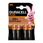 Duracell Plus AA Batteries, Pack of 4 - 81275375