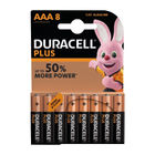 Duracell Plus AAA Batteries, Pack of 8 - 81275401