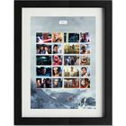 The Star Wars Framed Collectors Sheet