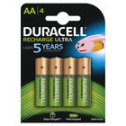 Duracell StayCharged Rechargeable AA Batteries, Pack of 4 - STAYCHARGED PREM