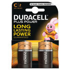 Duracell Plus C Batteries, Pack of 2 - 81275429