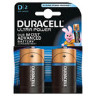 Duracell Ultra Power D Batteries (Pack of 2) 75051964