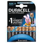 Duracell Ultra M3 AAA/LR03  Battery, Pack of 8 - DU03799