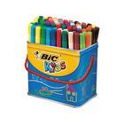 Bic Kids Visa Assorted Colours Felt Tip Pens (Pack of 84) - 829013